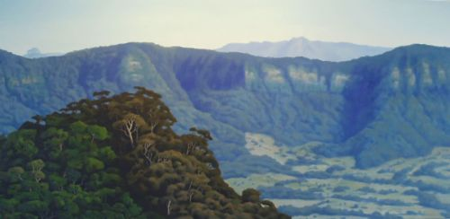 Wollumbin and the Border Ranges