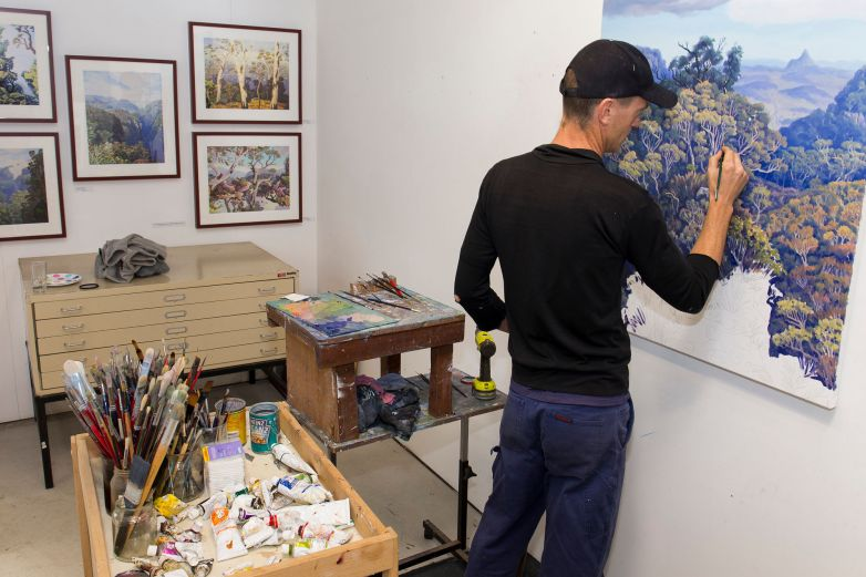 Drawing and Painting Workshop with Dave Groom